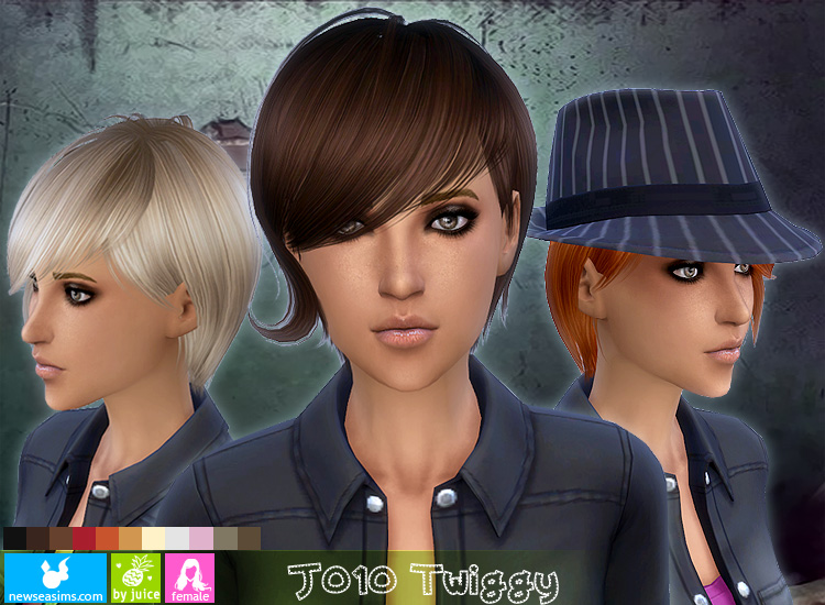 Twiggy Hair for Females by Newsea