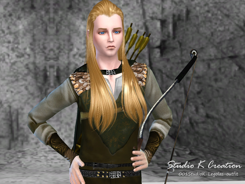 The Lord of the Rings - Legolas Full Outfit + Bow & Arrow for Males & Females by Karzalee