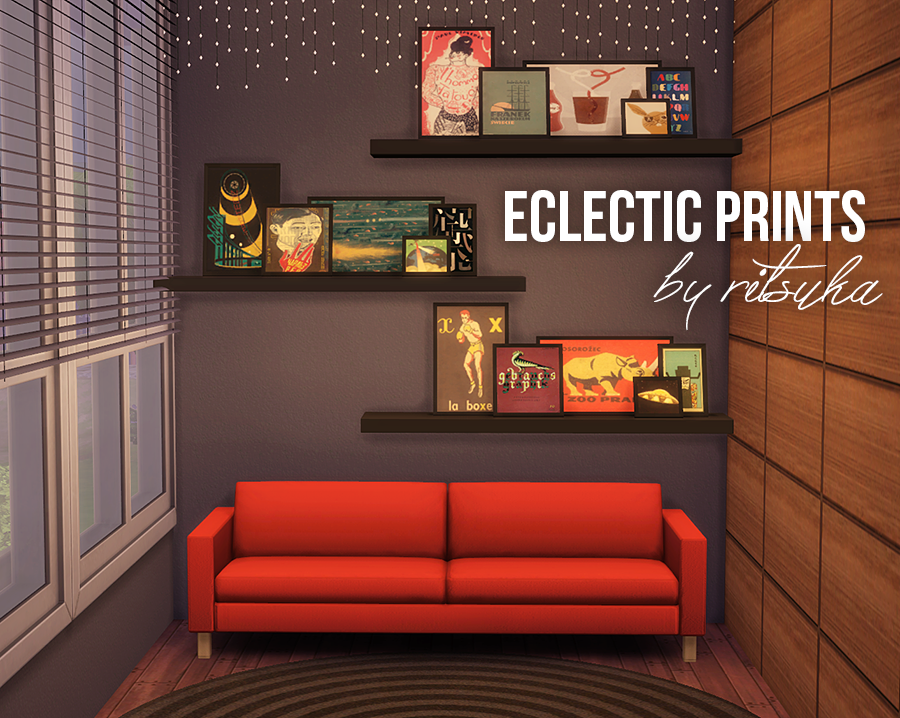 Eclectic Prints by Ritsuka