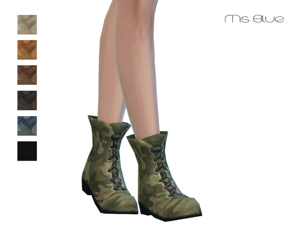 Military Boots by Ms Blue