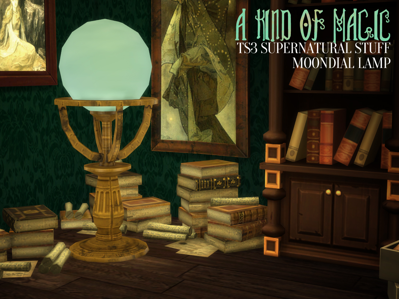 A Kind of Magic - TS3 Supernatural Conversions by Astraea Nevermore