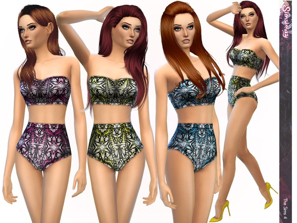 Butterfly Effect Print Design Bikinis by Simsimay