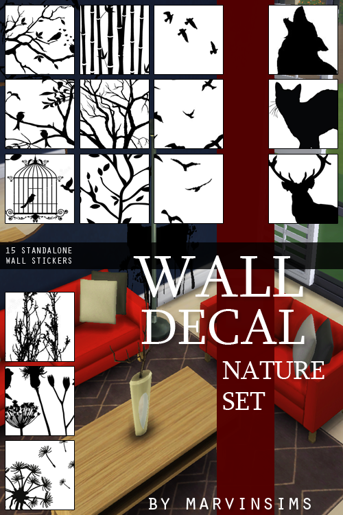 Wall Decals by MarvinSims