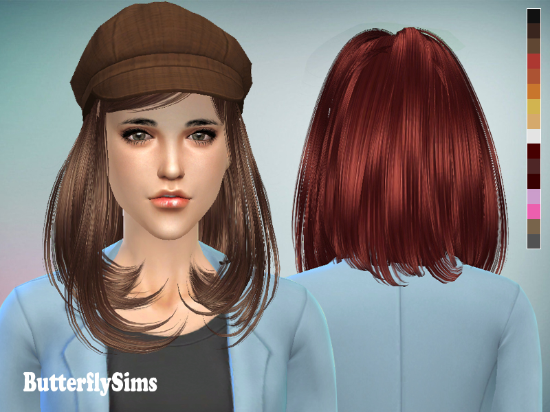 Hairstyle 058 by Butterfly Sims