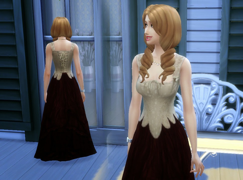 Medieval Corset & Skirt for Teen - Elder Females by Kiara24