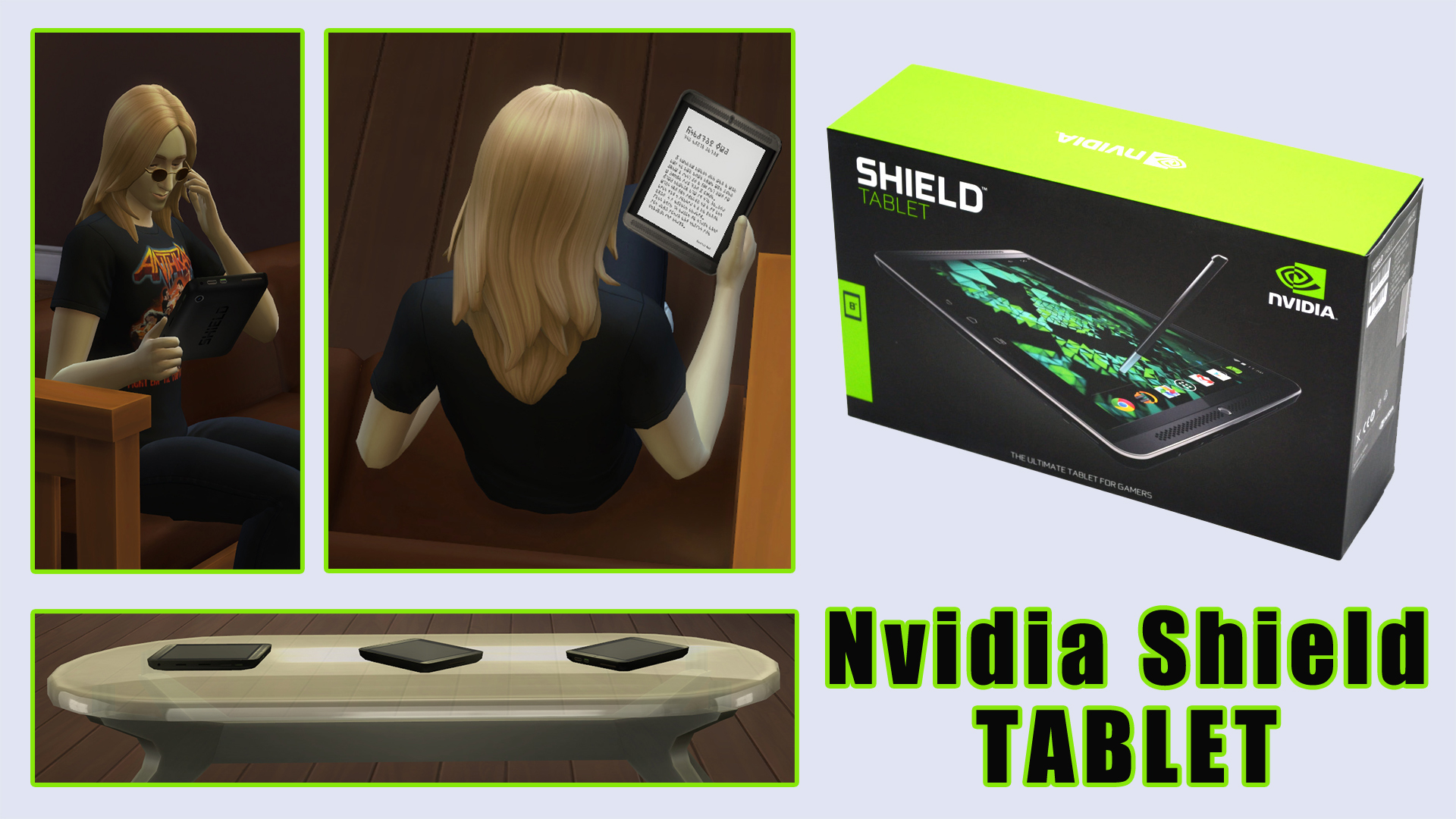 Nvidia Shield Tablet by ironleo78
