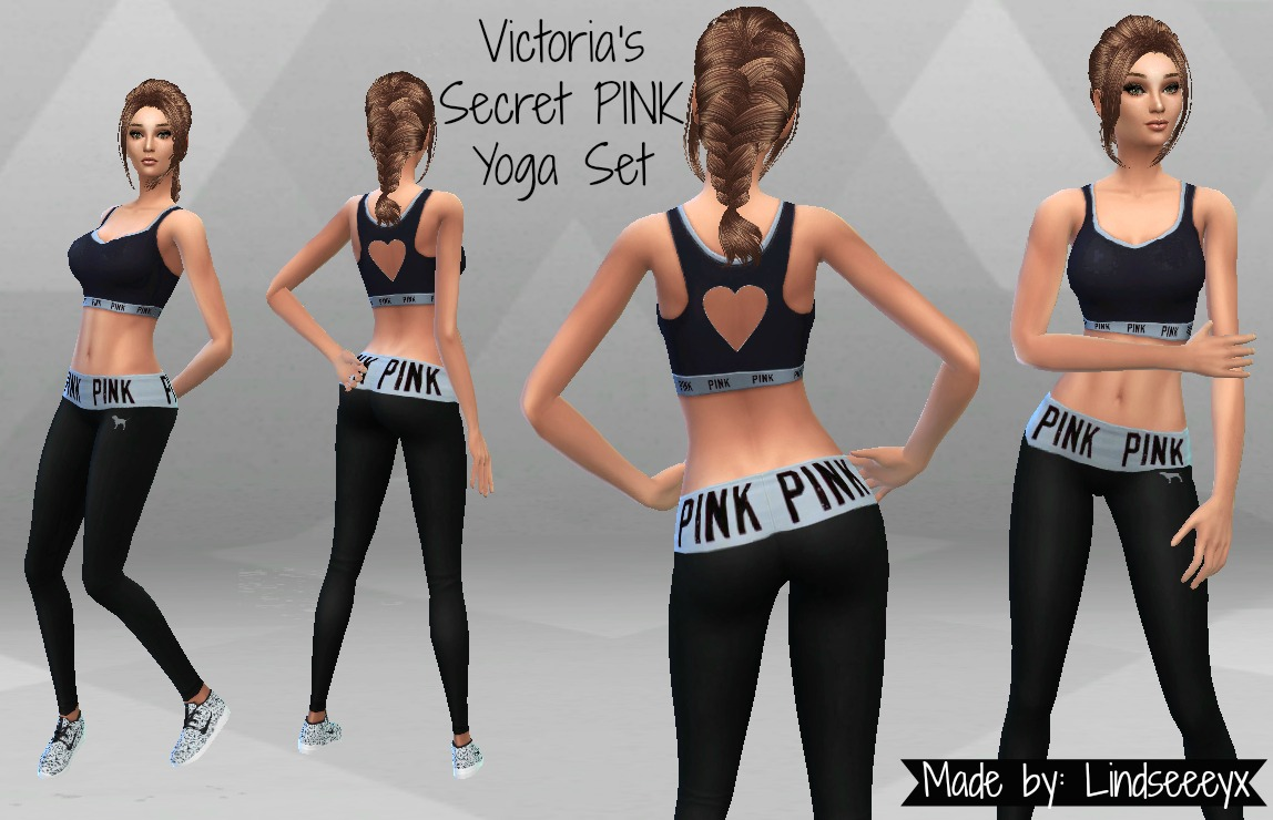 Victoria's Secret PINK Yoga Set by lindseeeyx