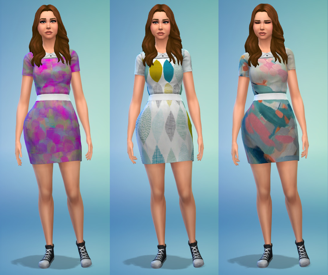 Dress Edit and Recolors by LetichesPixels