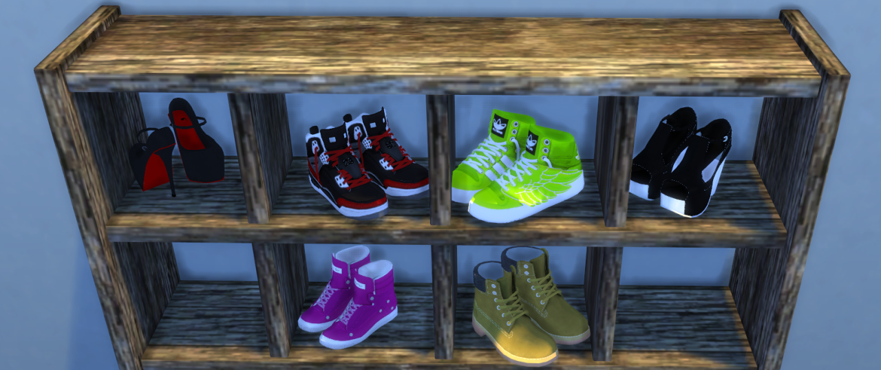 SimsInLuxury Shoe Set (Decor Shoes) by SG5150