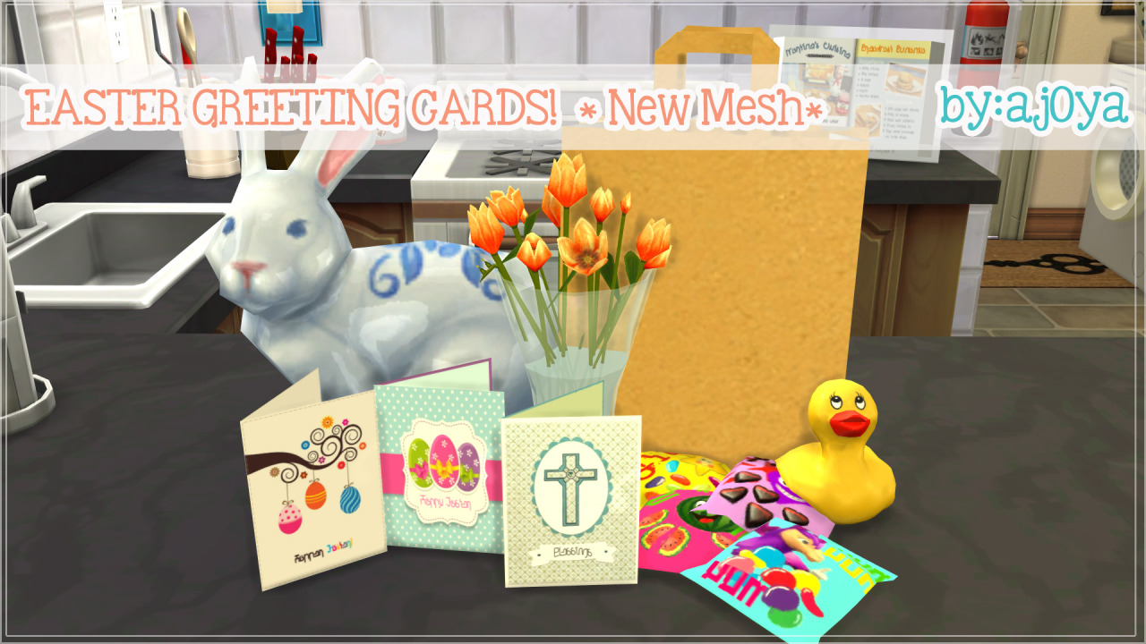 Easter Greeting Cards by Ajoya