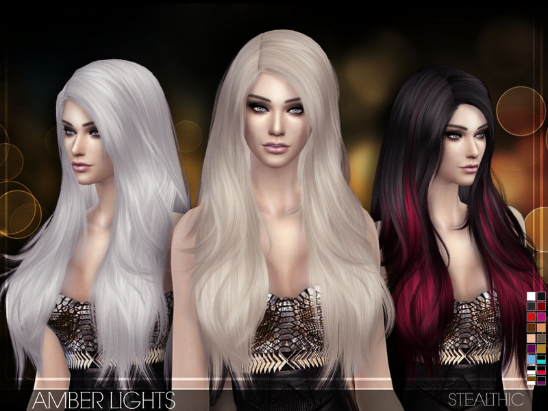 Stealthic - Amber Lights (Female Hair)