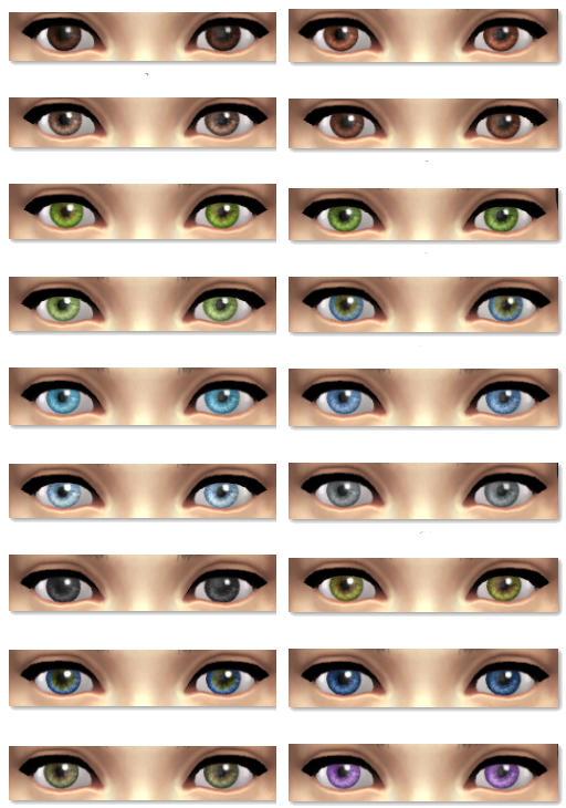 Realistic Replacement Eyes Updated for Patch 3-26 by Vicarious Living
