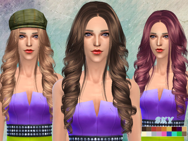skysims hair 261