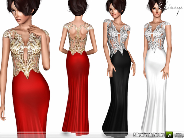 Embellished Gown by ekinege