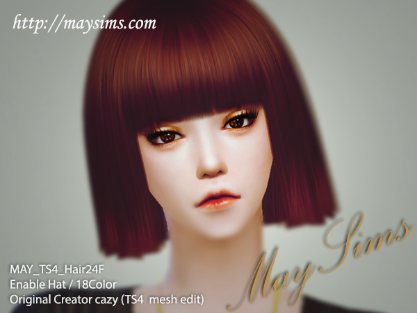 Hair24F by May Sims