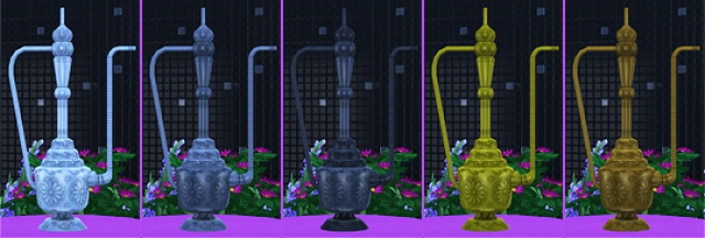 TS3 Hookah and Sculpture Conversion by Soloriya