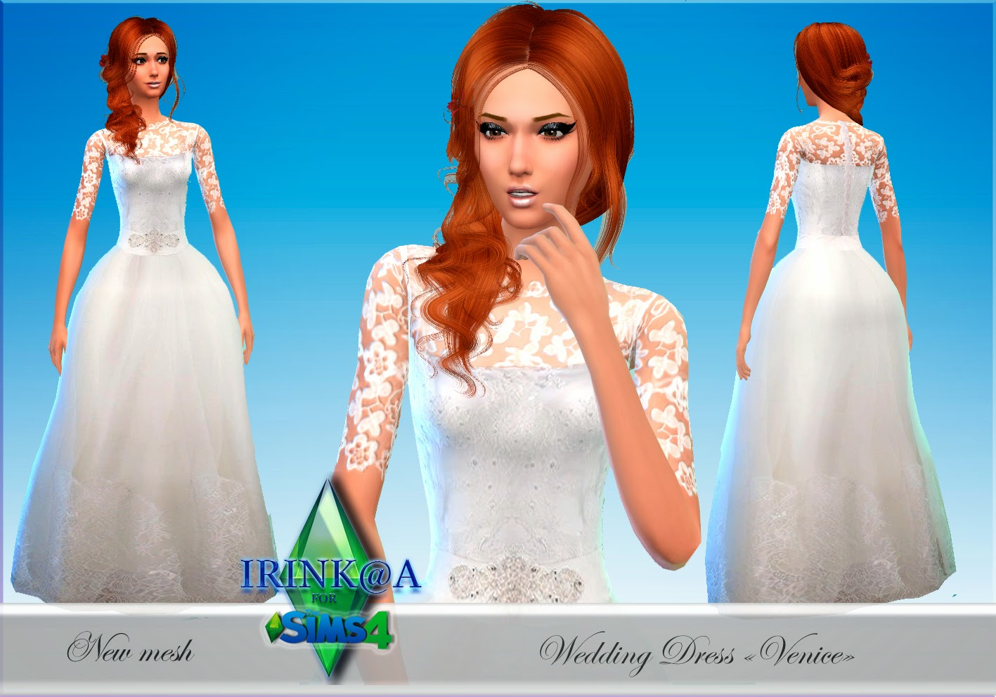 Wedding Dress Venice by Irink@a