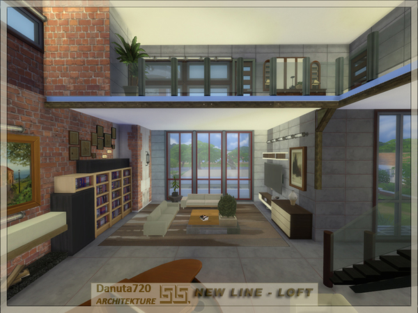 NEW LINE - Loft by Danuta720