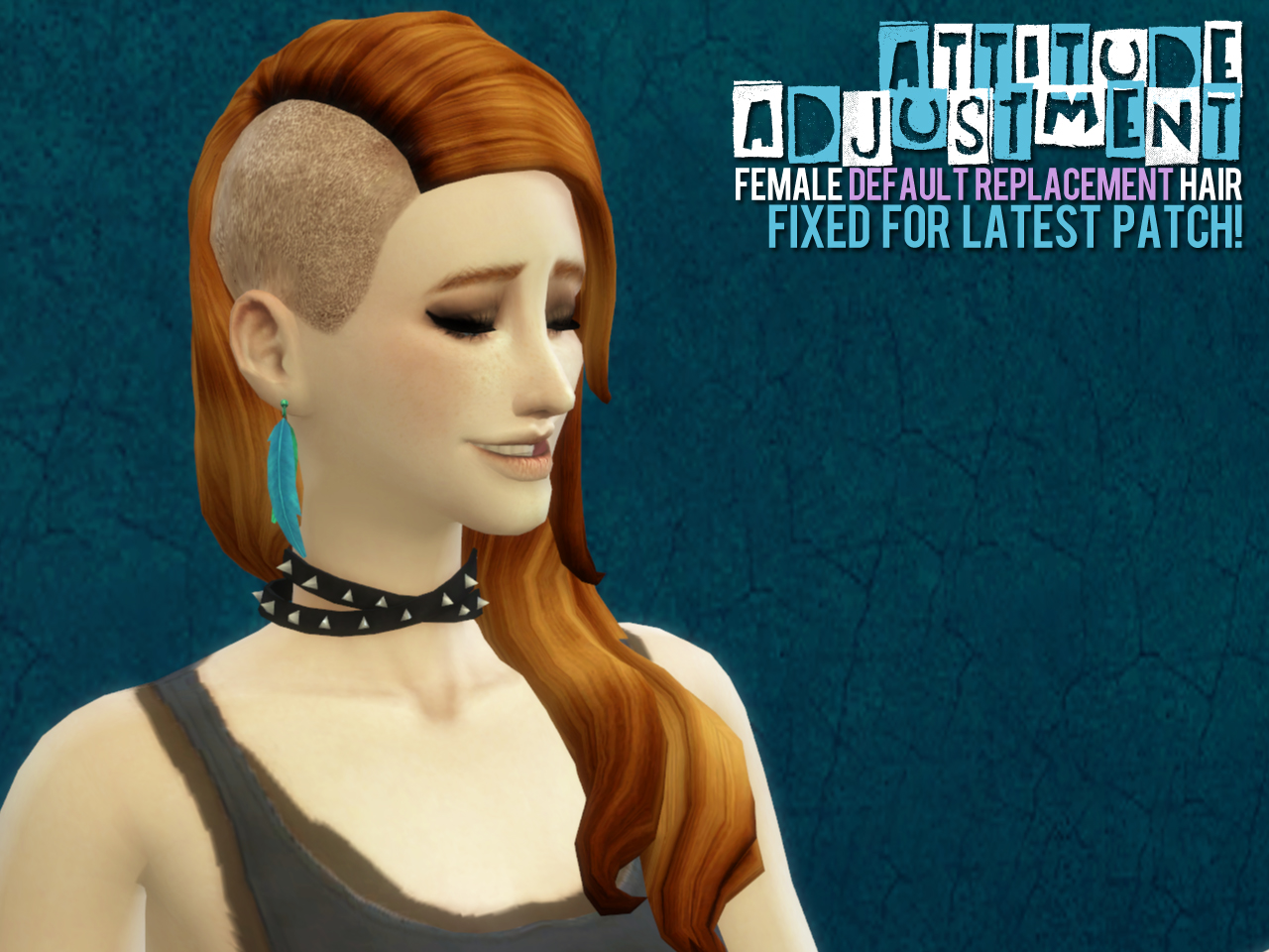 Female Default Replacement Hair Updated for Patch 3-26 by Astraea Nevermore