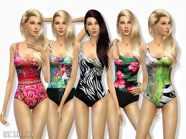 Swimsuit Collection 01 by lillka