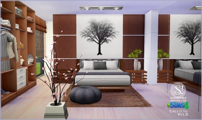 SIMcredible! Designs 4  Furniture, Bedroom : Call of the wild bedroom