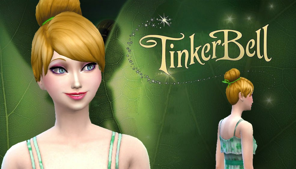 Tinkerbell Hair for Females by Kiara24