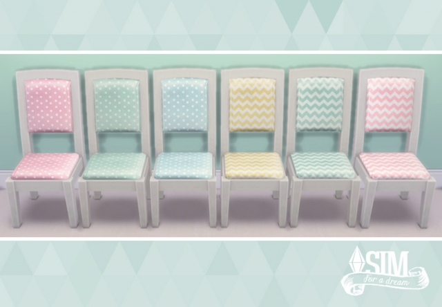 Desk and Chair Recolors by SimForADream