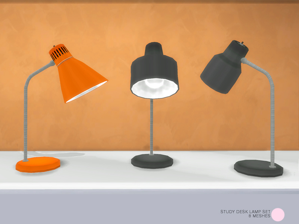 Study Desk Lamp Set by DOT