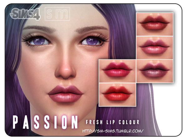 [ Passion ] - Fresh Lip Colour by Screaming Mustard