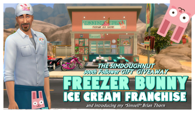 Freezer Bunny Ice Cream Set by SimDoughnut