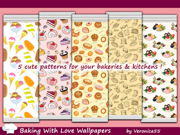 Baking With Love Wallpapers by veronica55