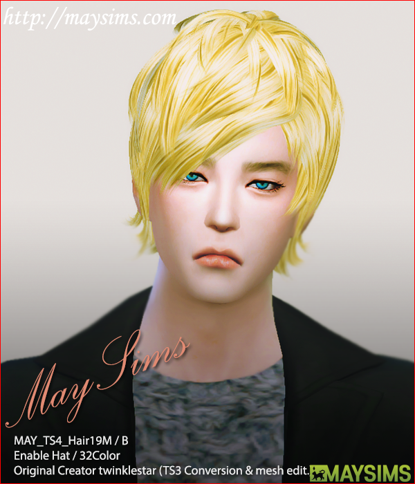 Hair19B by May Sims