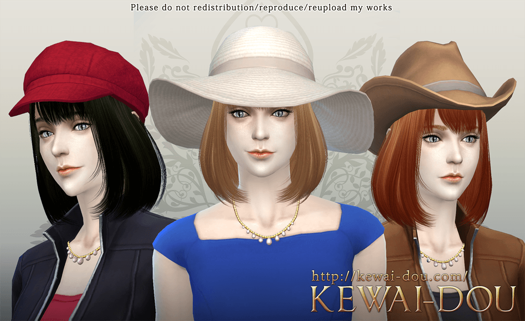 Kewai-Dou Cecile Hair for Females