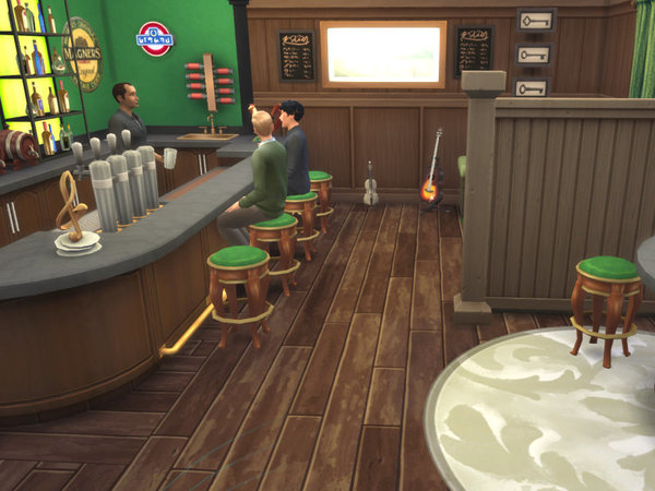 Irish Pub by Leander Belgraves