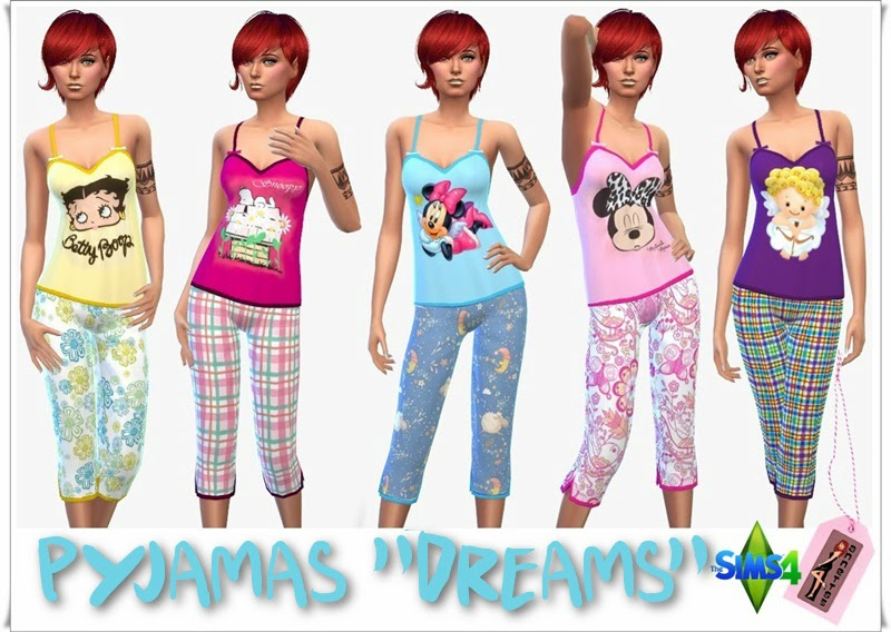 "Pyjama ""Dreams"" by Annett85"