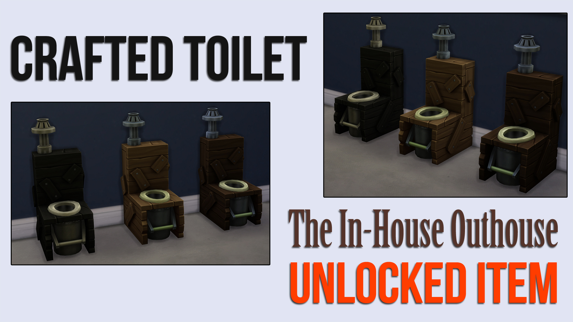 Crafted Toilet The In-House Outhouse by ironleo78