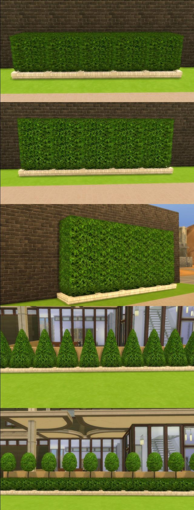 The Sims 2 Hedges by AdonisPluto