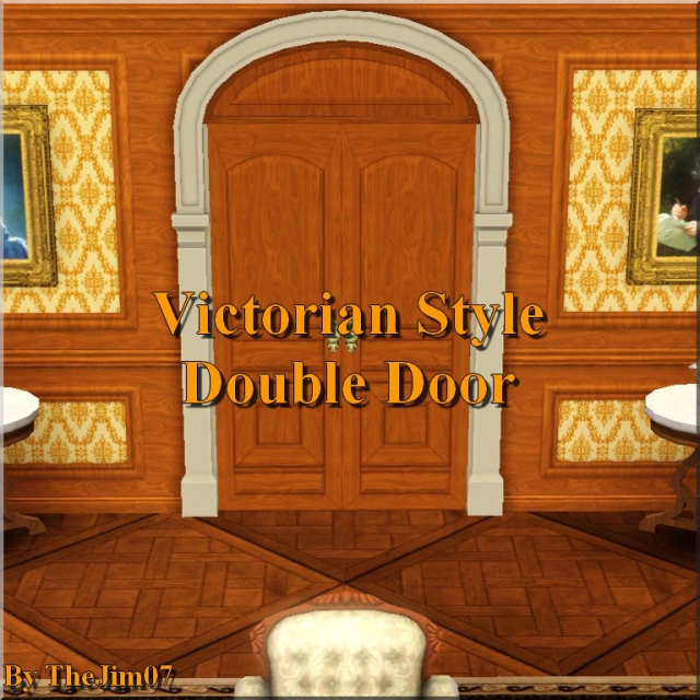 Victorian Style Double Door by TheJim07