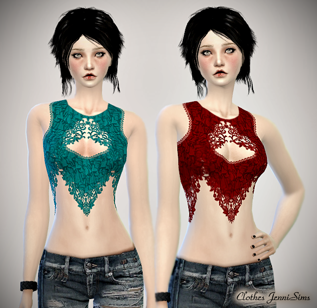 Tops for Females by JenniSims