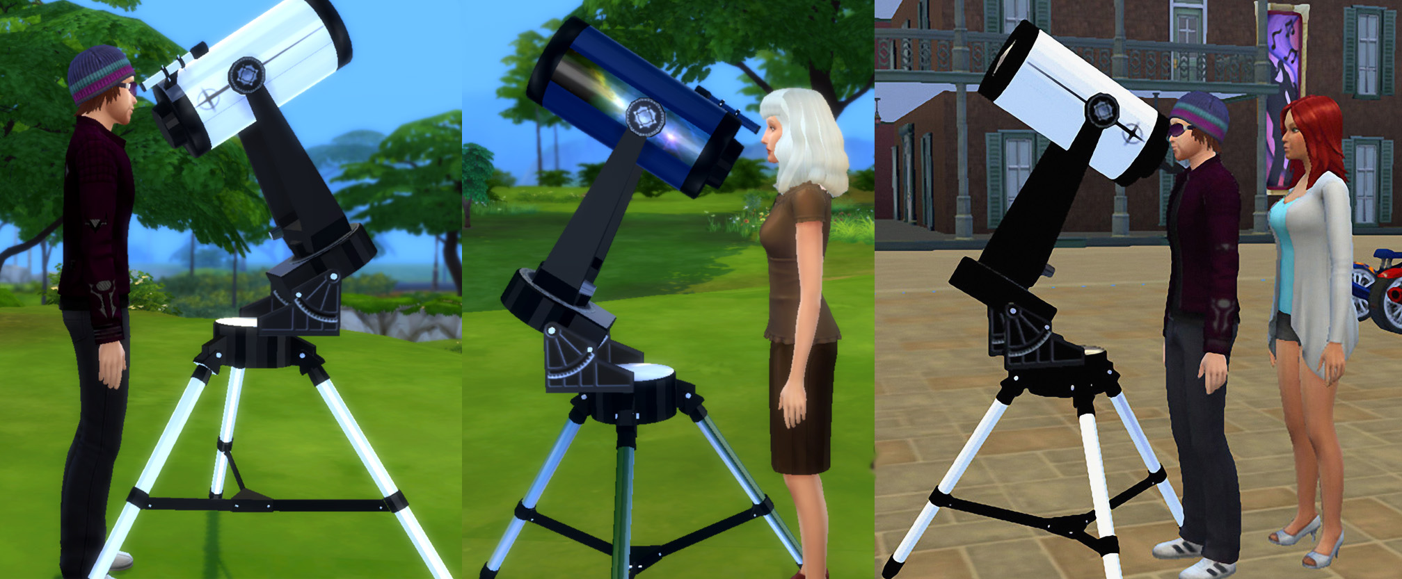 Telescope as Observatory Alternative by Esmeralda