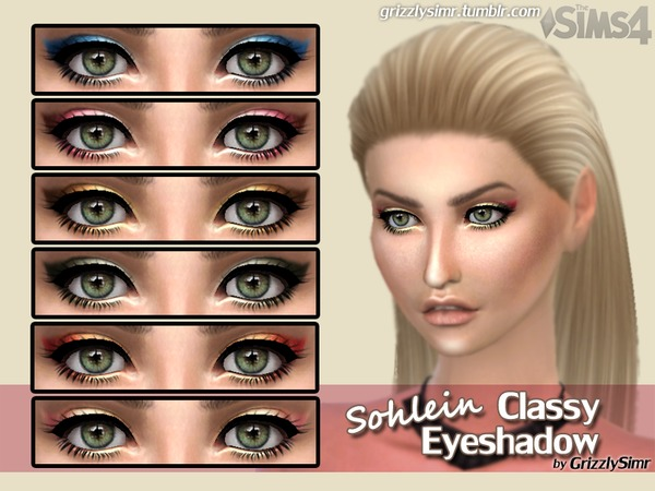 Sohlein Classy Eyeshadow by GrizzlySimr