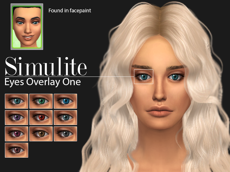 Eyes Overlay One by simulite