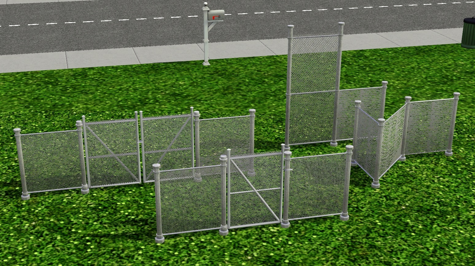 Your Wish is Granted - A SHORT CHAIN FENCE by SimRivers