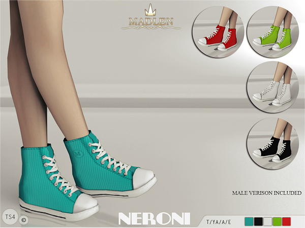 TSR  Shoes, Shoes for females : Madlen Neroni Sneakers by MJ95