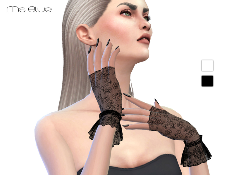 Lace Gloves BY Ms Blue