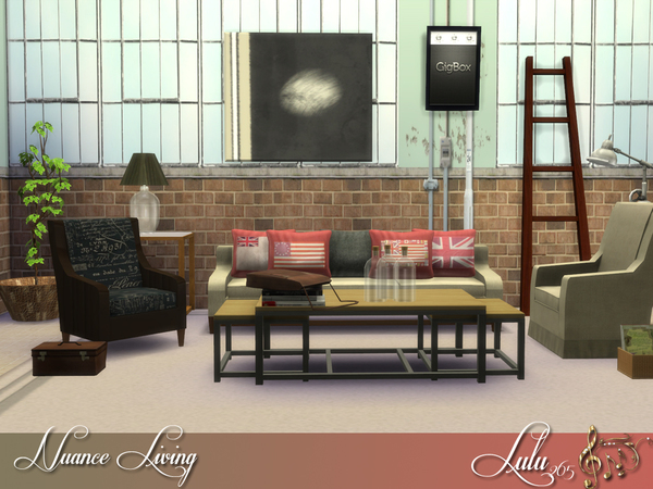Nuance Living Room by Lulu265