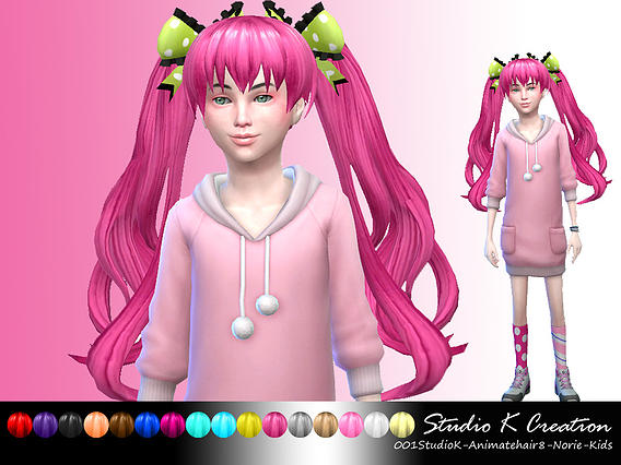 Animate hair 8 -Norie for kids от Karzalee
