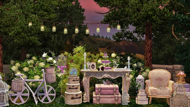 Lilac Dreams Wedding Chapel by Frau Engel