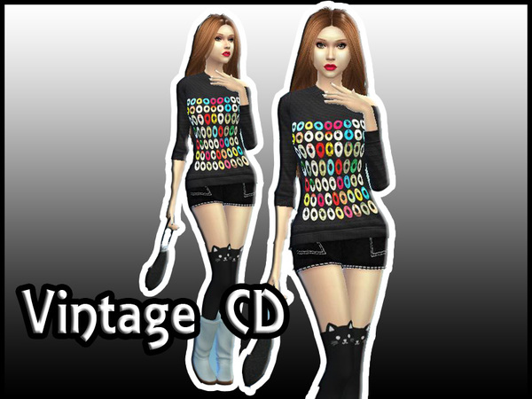 Vintage CD (Female) by ShirtCustomizer