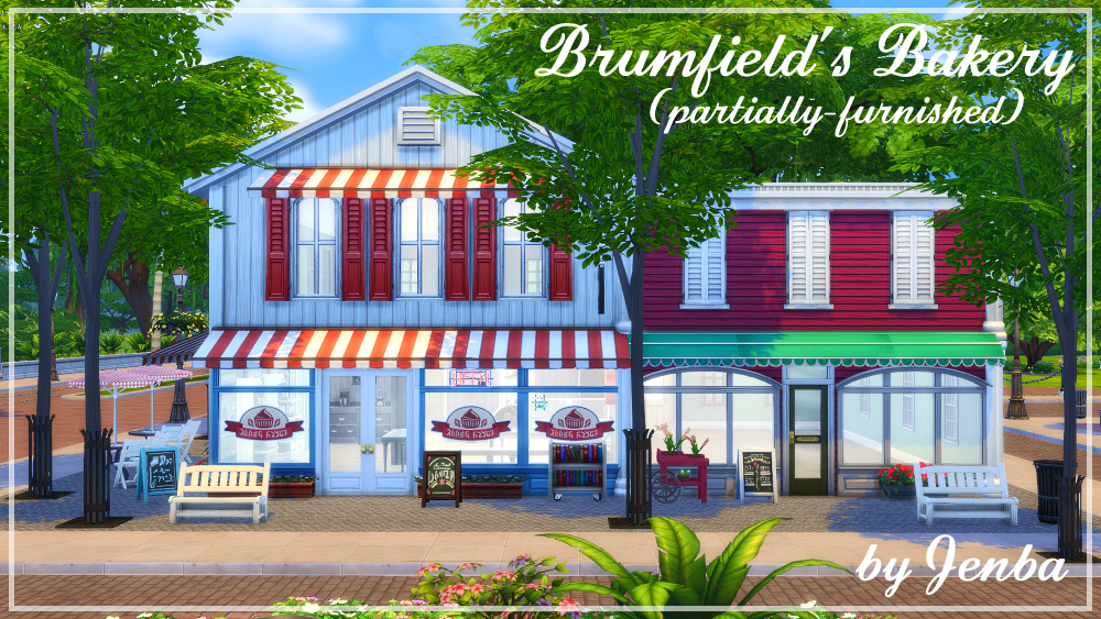 Jenba Sims  Houses and Lots, Community Lots : Brumfields Bakery lot for Magnolia Promenade